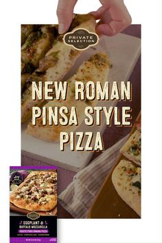 PRIVATE SELECTION™ Rustic Pinsa Romana Pizzas may be new to our stores, but they've been enjoyed since ancient Roman times! What makes pinsa pizzas so special? Each delicious variety has a rustic oval shape, irresistibly crispy yet cloud-like crust and tasty, gourmet toppings. Cream Sauce Recipes, Air Fryer Recipes Easy, Frozen Pizza, Campfire Food, Main Meals, Mozzarella, Great Recipes, Tasty, Oval Shape