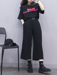 Stylish ideas on korean fashion outfits 588 Korean Girl Fashion, Korean Fashion Trends, Ulzzang Fashion, Korean Street Fashion, Korea Fashion, Cute Fashion, Asian Fashion, Daily Fashion, Fashion Outfits
