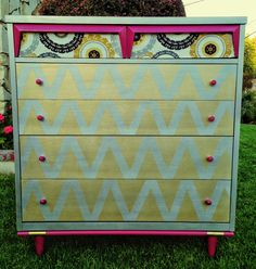 *SOLD* Mid-Century Modern turned MOD! www.uniquelyyoudesign.etsy.com