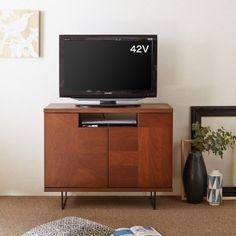 おすすめ テレビ台 高さ 80cm 通販のベルメゾンネット ウォルナット材のハイタイプテレビ台