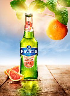 Bavaria Radler by Peek Creative Studios , via Behance