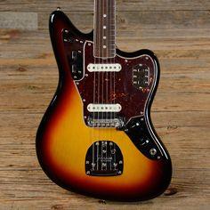 Fender American Vintage '65 Jaguar Three Tone Sunburst USED (s779)