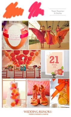 "Inspiration Board: Tango Tangerine – 2012 ""It"" Color"