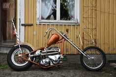 Chopper motorcycles and custom motorcycles. Sometimes bobbers but mostly choppers, short chops and custom bikes. Triumph Chopper, Chopper Motorcycle, Bobber Chopper, Motorcycle Design, Triumph Motorcycles, Custom Motorcycles, Custom Bikes, Custom Choppers, Classic Harley Davidson
