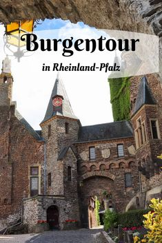 Excursion destinations in Rhineland-Palatinate: the most beautiful castles Trailers Camping, Arundel Castle, Castle Painting, Rhineland Palatinate, Castles In Ireland, Beautiful Castles, The Visitors, Travel Destinations, Places To Visit