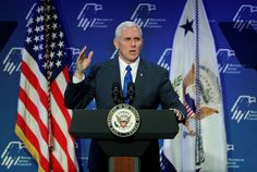 """""""I'm proud to stand with the President, who stands with our most important ally, the Jewish State of Israel,"""" Pence declared."""