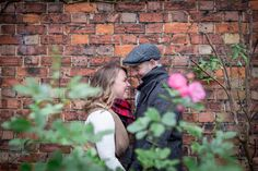 Engagement pictures at Alnwick Gardens - AnnaJoy Photography