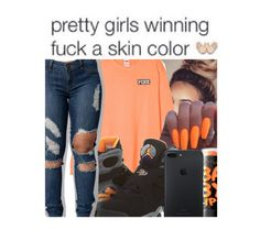 """Every Girl Is Winning "" by pocket-full-of-rainbows ❤ liked on Polyvore featuring NIKE and Maybelline"