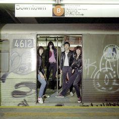The Ramones take the subway :)