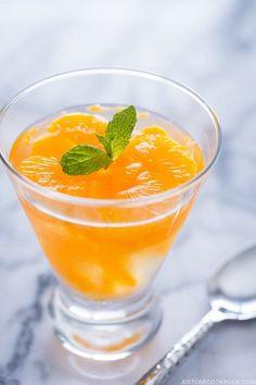 Orange Jelly   Easy Japanese Recipes at JustOneCookbook.com