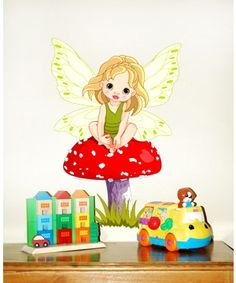 A Fairy Wall sticker, for our little girls...
