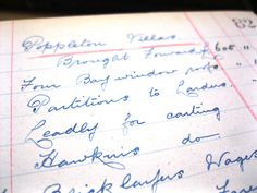 This is an itemised list of jobs done at Poppleton Villas from the Robert Dent & Son (RDB) collection. This gives us a fascinating insight into the day to day operations (and income) of a York building company.
