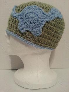 Gavin's Dinosaur Friend Beanie Hat Crochet Pattern - free crochet pattern from cRAfterChick.com