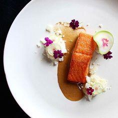 Trout, onion, potato, radish, & smoke. ✅ By - @seanymacd ✅  #ChefsOfInstagram