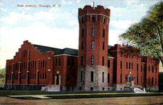 State Armory, Oswego, N.Y. circa 1910