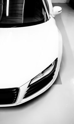 My other car is a White Audi R8.