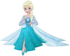 Elsa siting with a magical snowflake