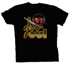 I Love Neo-Soul (Men's Version 2) Neo Soul, Notes, Mens Tops, T Shirt, Fashion, Supreme T Shirt, Moda, Report Cards, Tee Shirt