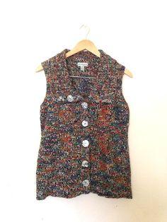 Rainbow Cozy Vest $8.00