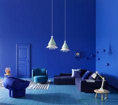Feeling blue. Xk #kellywearstler. Color. Yves k