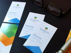Echelon biz cards printed designed by Shane Helm for Engage. Connect with them on Dribbble; Print Design, Logo Design, Communication Design, Name Cards, Cards Against Humanity, Branding, Printed, Packaging, Business