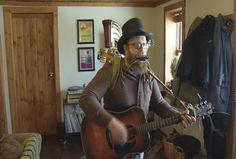 That's our guy! Stovepipe Stover: One Beard Band