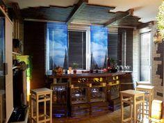 Mit einer selbstgebauten Karibik Bar findet der Sommer sogar innerhalb eurer vier Wänden einen Platz. :D - #OBI Selbstgemacht! Blog. Selbstbauanleitung für jedermann. #DIY #Theke