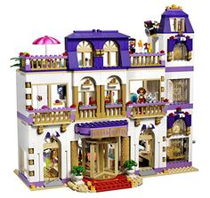 Buy LEGO Friends Heartlake Grand Hotel Building Kit 41101 Games Building Toys New at online store Lego Harry Potter, Lego Duplo, Lego Toys, Lego Ninjago, Lego Hotel, Lego Friends Sets, Friends Series, Grande Hotel, Lego Girls