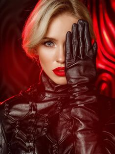 Gloves Fashion, Fashion Boots, Women's Fashion, Elegant Gloves, Long Gloves, Women's Gloves, Thigh High Boots Heels, Black Leather Gloves, Portraits