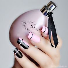 nails, pink, and fashion kép