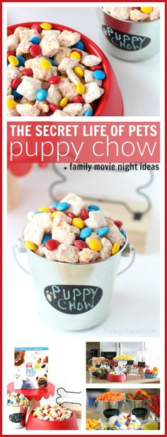 The Secret Life of Pets Puppy Chow + Family Movie Night Ideas   Ideas to host your own The Secret Life of Pets Movie Party at Home – Raising Whasians #TheSecretLifeOfPets #PetsPack #ad