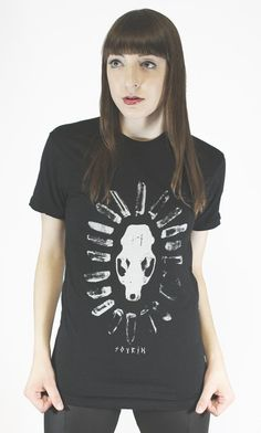Skunk Ghost unisex tee by SOVRIN on Etsy