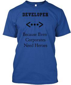 Developer Corporate Heroes T-shirt | Teespring