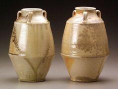 Ben Owen Pottery, Seagrove, NC. Natural Ash glaze.