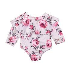 cdb9f11f9b28 Maria - Off the shoulder Long Sleeve onesie. Bohemian Baby ClothesBaby  DressBaby Girl RomperBaby ...