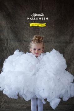 DIY Kids Cloud Costume