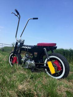 Moped Motorcycle, Moped Scooter, Custom Mini Bike, Custom Bikes, Diy Go Kart, Wood Bike, Mini Chopper, Minibike, Garage Art