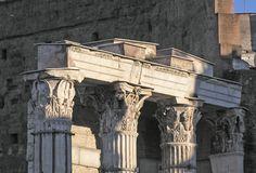Foro di Augusto - colonne