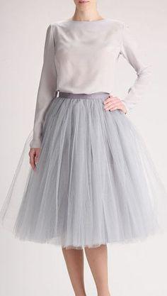 awesome Jupon en tulle : Beautiful Shops: Grey tulle skirt, Handmade long skirt, Handmade tutu skirt