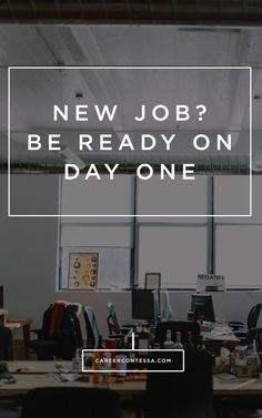 Survive the first day of your new job by following these tips from an ex-Googler. #Google #FirstDay #NewJob #CareerAdvice #CareerTips