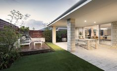 4 bedroom | Freeman house design | Alfresco | Celebration Homes