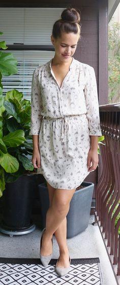 Jules in Flats - Aritzia Babaton Bennett Dress