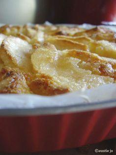 gâteau aux pommes à la mode toscane