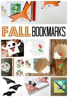Fall Corner Bookmark