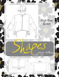 Shapes High Five jacket, oop Sewing Hacks, Sewing Tutorials, Sewing Projects, Sewing Tips, Diy Clothes Patterns, Sewing Patterns, Chiffon, Sewing Class, High Five