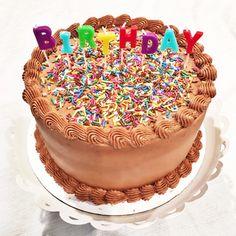 Cake by Courtney: Triple Chocolate Cake for the Birthday Boy