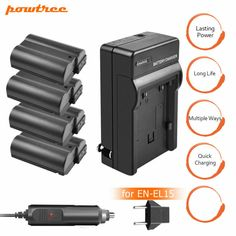 Powtree Battery for Nikon MP Nikon D810, Photo Accessories, Locker Storage, Ebay, Things To Sell