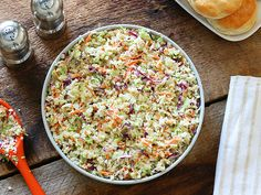 Complete your BBQ spread with this delicious copycat Cracker Barrel coleslaw recipe from Top Secret Recipes. The ingredients & steps are simple. Start today! Slaw Recipes, Copycat Recipes, Cabbage Recipes, Drink Recipes, Yummy Recipes, Top Secret Recipes, Cracker Barrel Recipes, Grilled Side Dishes, Clone Recipe