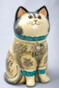 Picture of a cute decoration wooden cat stock photo, images and stock photography. Crazy Cat Lady, Crazy Cats, Cat Statue, Wooden Cat, Cat Decor, Maneki Neko, Cat Colors, Vintage Cat, Art World