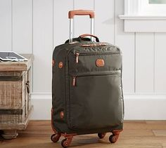 Brics Rolling Carry-On Luggage #potterybarn